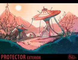 AoS: Protector exterior environment by dizzyclown