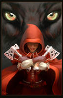 Red Riding Hood - Poster by dizzyclown