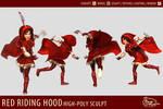 Red Riding Hood - 3D Modelsheet