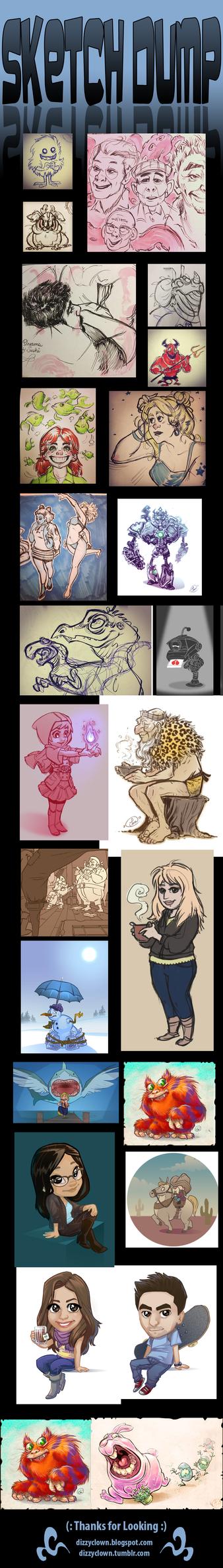 Sketch Dump No. ??? by dizzyclown