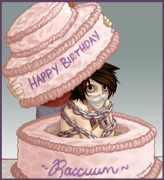DN  Happy Birthday Raccuun by vashs angel