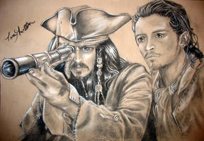 Pirates of the Caribbean by dizzyclown
