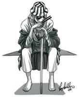 Bleach: Urahara Kisuke by dizzyclown