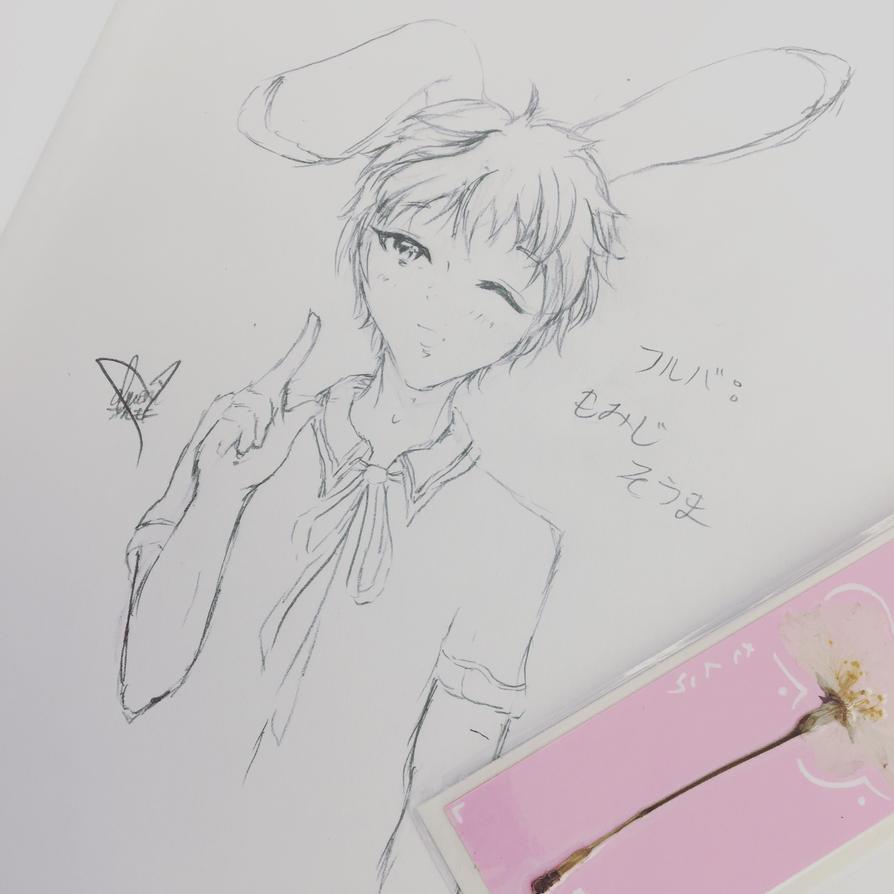Momiji Sohma- Year of the Rabbit by animemoni