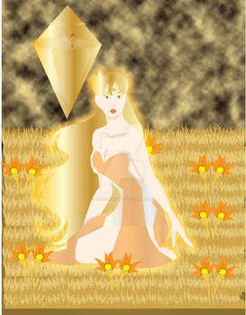 Golden View on Venus