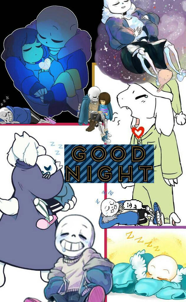 Goodnight Undertale by ThatWeirdHetalian