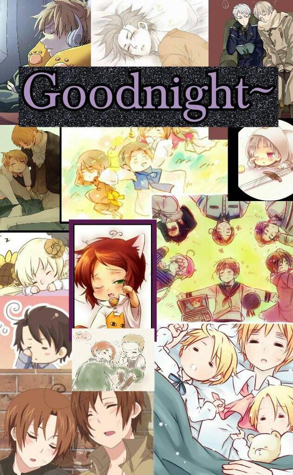 Goodnight~ Hetalia by ThatWeirdHetalian