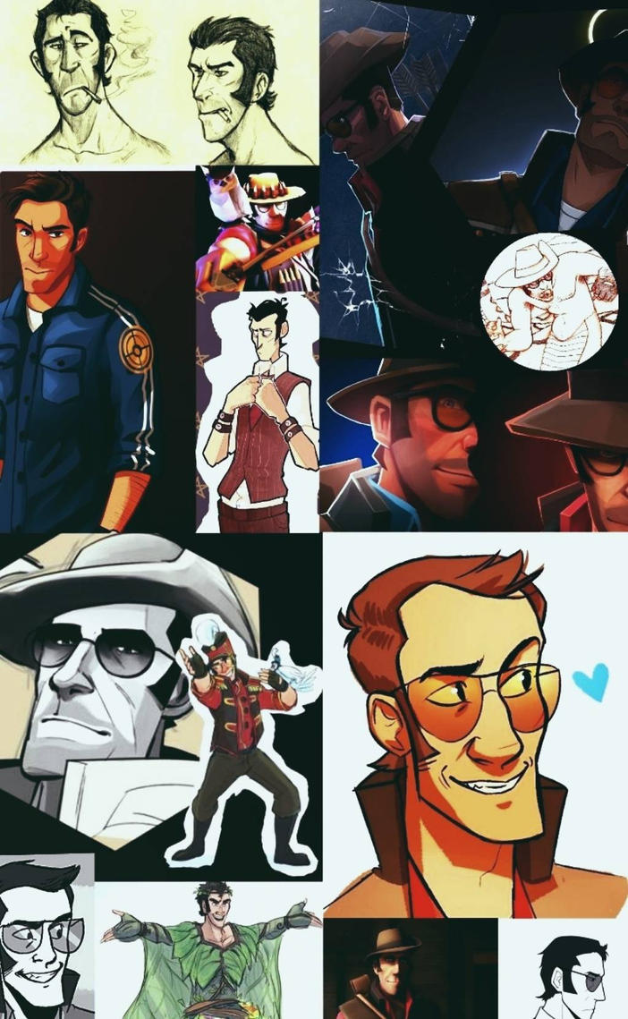 Sniper Collage by ThatWeirdHetalian