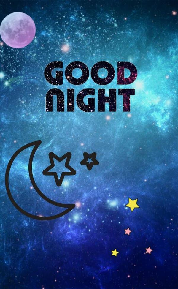Good Night Galaxy by ThatWeirdHetalian