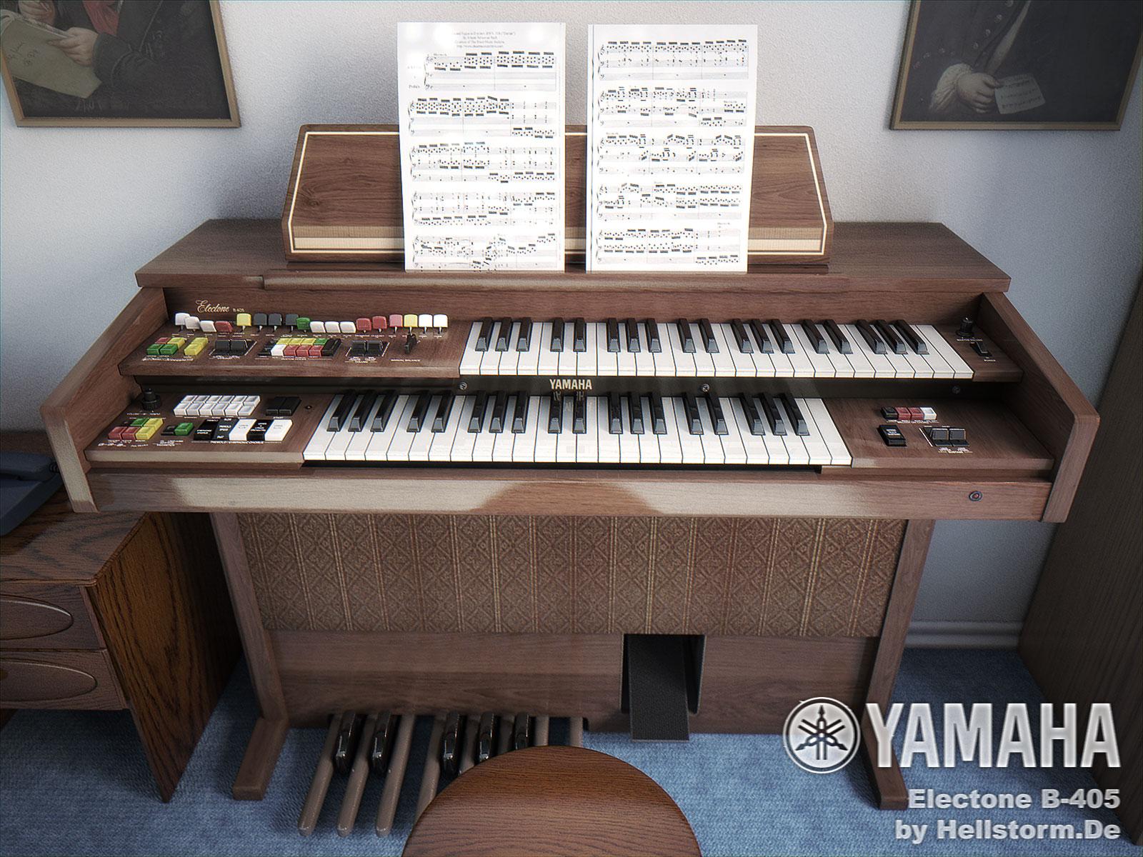 Yamaha Electone B-405 by hellstormde