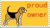 Beagle Stamp 4 by Beaglelicious