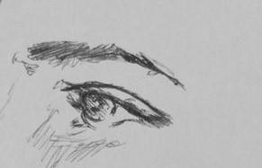 eye doodle by Ashleyissweet