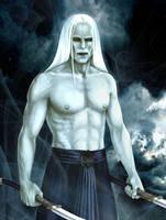 Prince Nuada Silverlance by silvern-geo