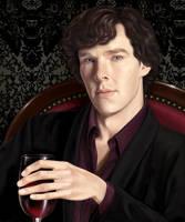 SHERLOCK HOLMES BBC - CABERNET by silvern-geo