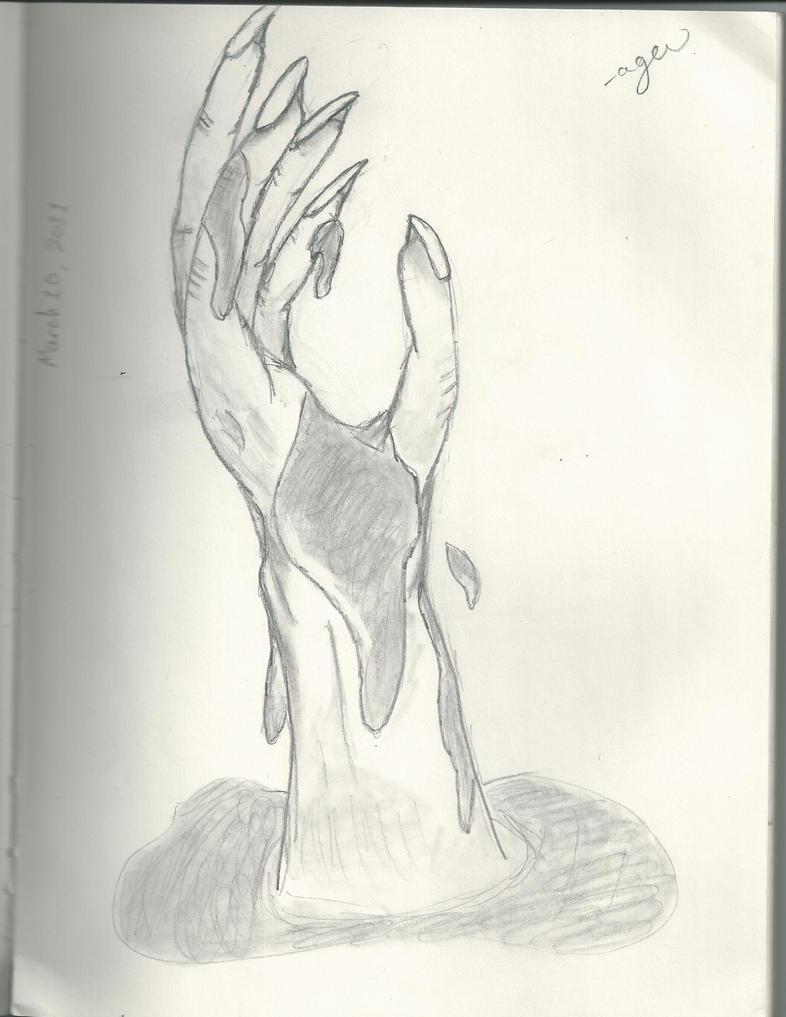 Reaching Hand by PlumMuffins on DeviantArt
