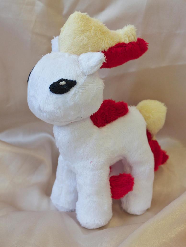 Ponyta Plush by Chelliusbee