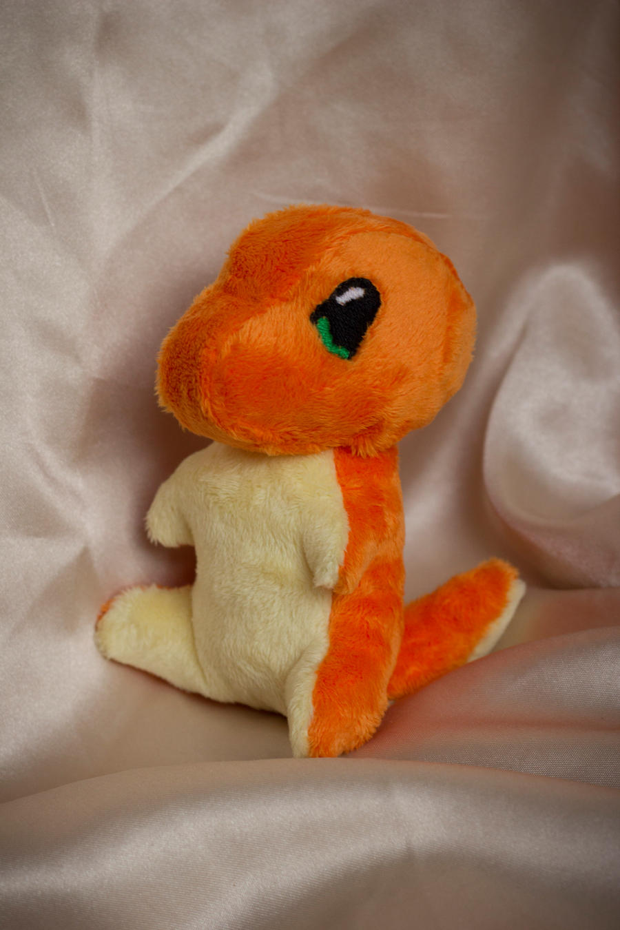 A wild Charmander appeared! by Chelliusbee