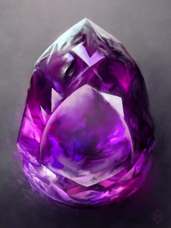 Infinity amethyst