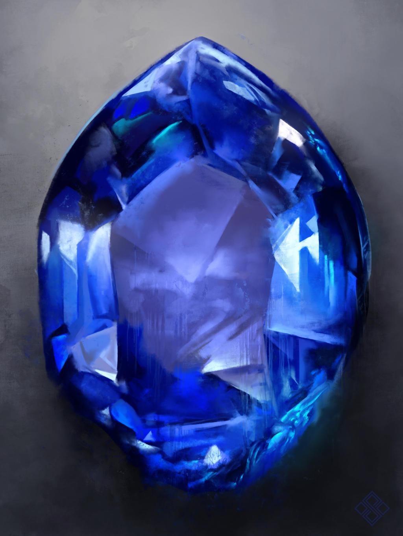 Infinity Sapphire by ZsoltKosa