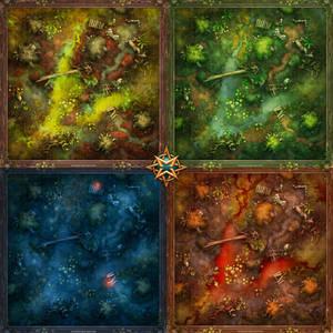 Swamp ruin map pack