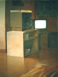 My old tv and stereo by tfels
