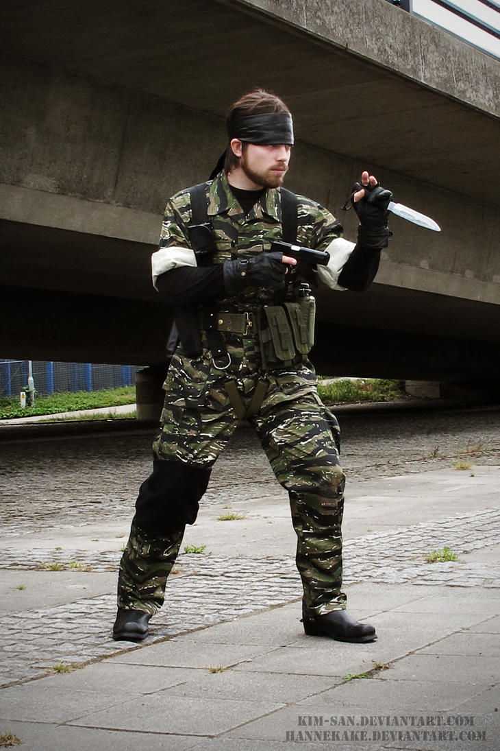 Naked Snake - Metal Gear Solid by kakeboksen