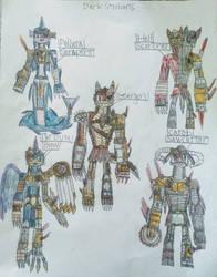 Dark Steelians by DragoTerror