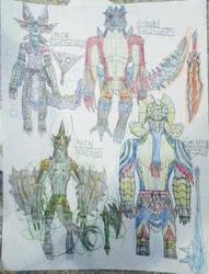 Team Deviant 4 by DragoTerror