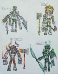 Team Cosmic Pantheons  by DragoTerror
