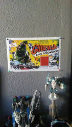 Godzilla king of the monsters original poster by DragoTerror