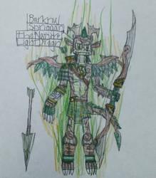 Barknu Spriggan, the Nature Light Dragon by DragoTerror