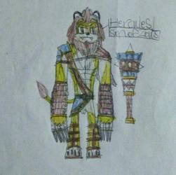 Hercules, Son of Zeus by DragoTerror