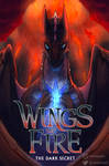 Wings of Fire 4 - The Dark Secret cover redraw
