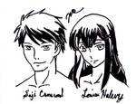 Saji and Louise