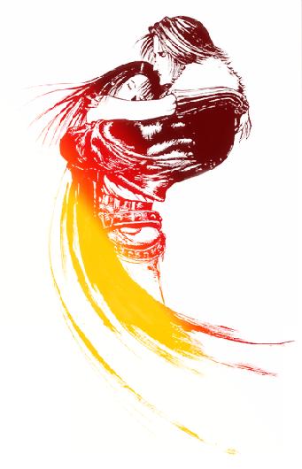FF8 Logo render NO TEXT