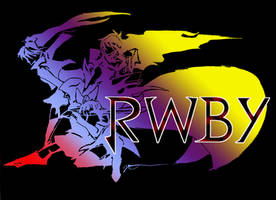 Final Fantasy style RWBY Logo by digitaleva