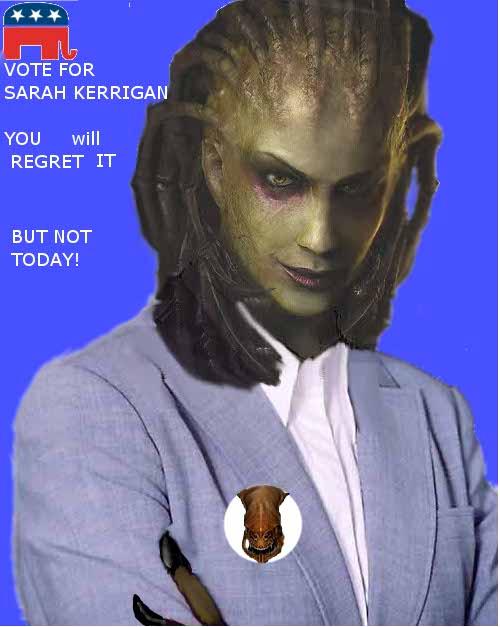sarah Kerrigan for president by Phildragonbleu
