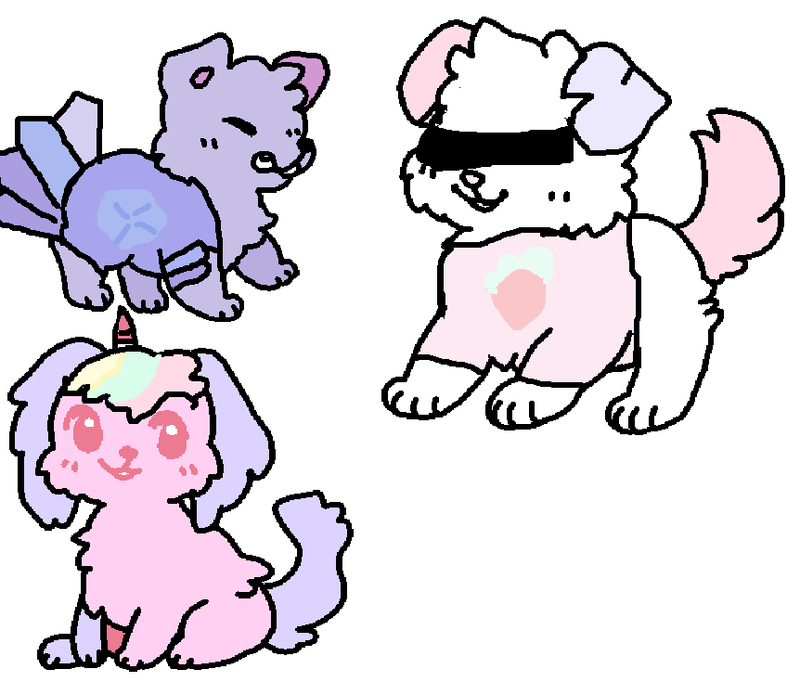 pastel dogger adopts by AnimalJamFan99