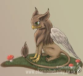 Cute Little Griffin by Chalouba