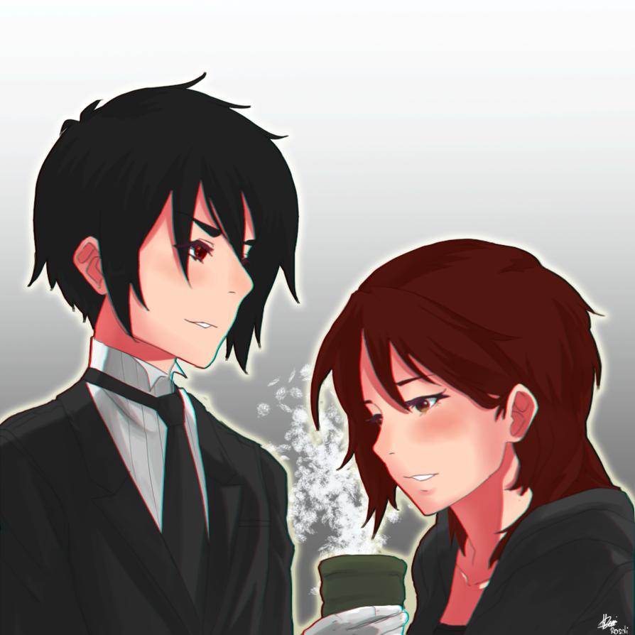 Sebastian and Zara - Request: HinataFox790 by Rosuke97