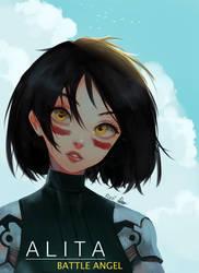 Alita Battle Angel by Rosuke97