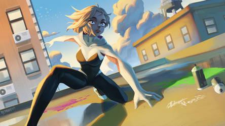 Spider Gwen- Into the Spider-Verse [RFL19] by Rosuke97