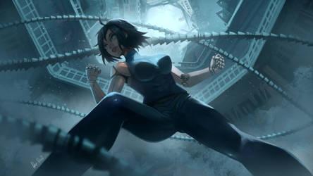 Alita Battle Angel [RFL19] by Rosuke97