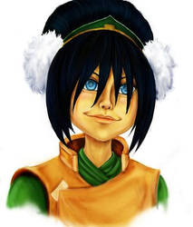 B for Bei Fong,Toph by NinjaMisha
