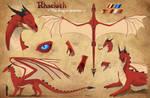 Rhaeloth - The Dragon Dreamer Reference Sheet