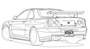 Nismo Skyline R34 GT-R WIP OL