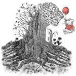 Shin Godzilla Tree and Pooh Bear