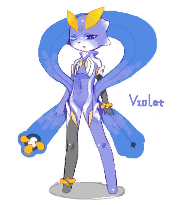 RebirthLand: Viola_drawr by CATLQE