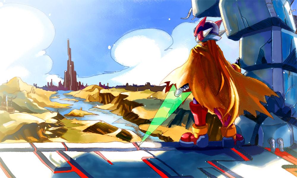 Rockman Zero:No title2 by CATLQE