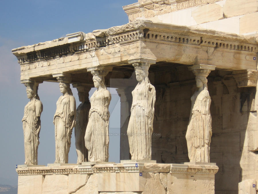 Athens, Erechtheion, with Caryatids by shannon-stark on ...